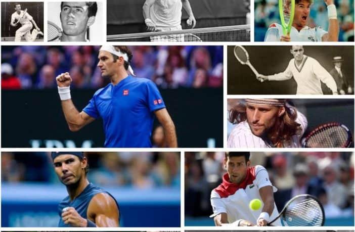 I 13 più grandi giocatori della storia del tennis