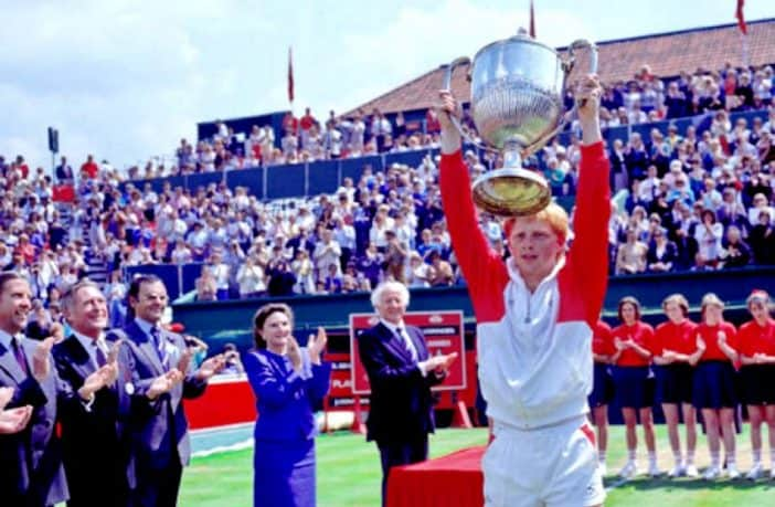 Boris Becker vince al Queens