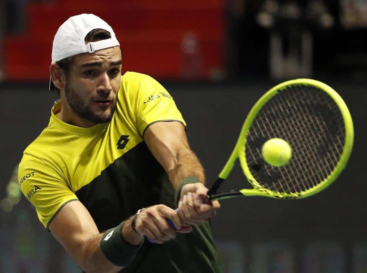 Berrettini Matteo Berrettini Vs Roger Federer Free