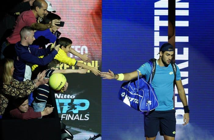 Seconda sconfitta per Berrettini alle Finals