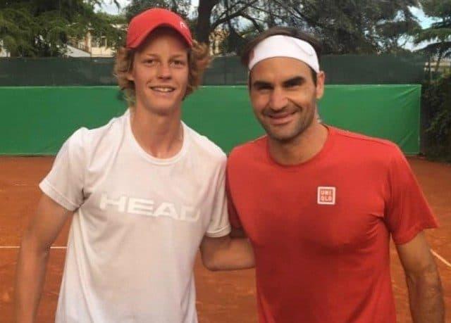 Il confronto Sinner-Federer (per ora) regge