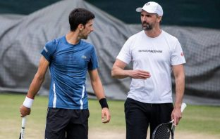 Novak Djokovic e Goran Ivanisevic