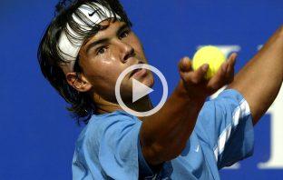 Nadal a 16 anni - Video