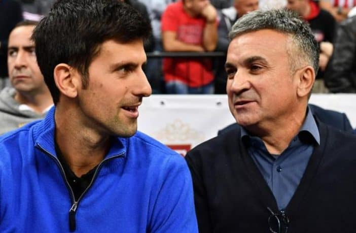 "Srdjan Djokovic contro Federer: ""E' geloso di Novak"""