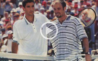 Indian Wells 1995, Sampras batte Agassi