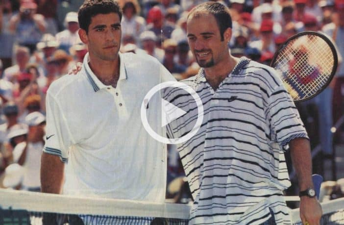 Indian Wells 1995, Sampras batte Agassi