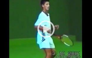 Novak Djokovic forza il diritto a 14 anni
