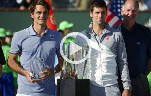 Indian Wells 2014, Djokovic vince su Federer