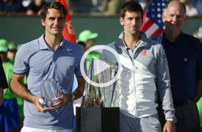 Indian Wells 2014, Djokovic vince su Federer