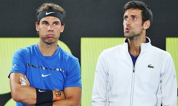 Rafael Nadal e Novak Djokovic