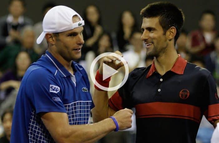 Roddick avanti negli scontri diretti con Djokovic