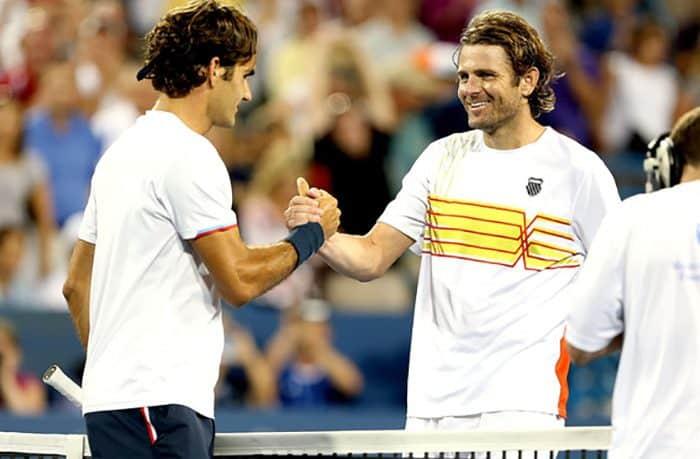 Roger Federer e Mardy Fish