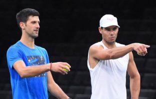 Djokovic e Nadal pronti a giocare a porte chiuse