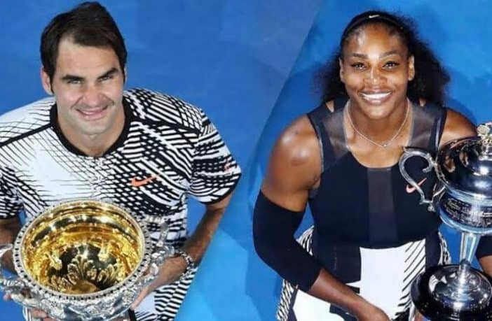 Roger Federer e Serena Williams
