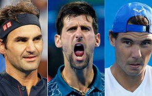 Giocare a porte chiuse? Federer contro Nadal e Djokovic