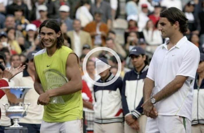 L'epica finale di Roma 2006 tra Nadal e Federer
