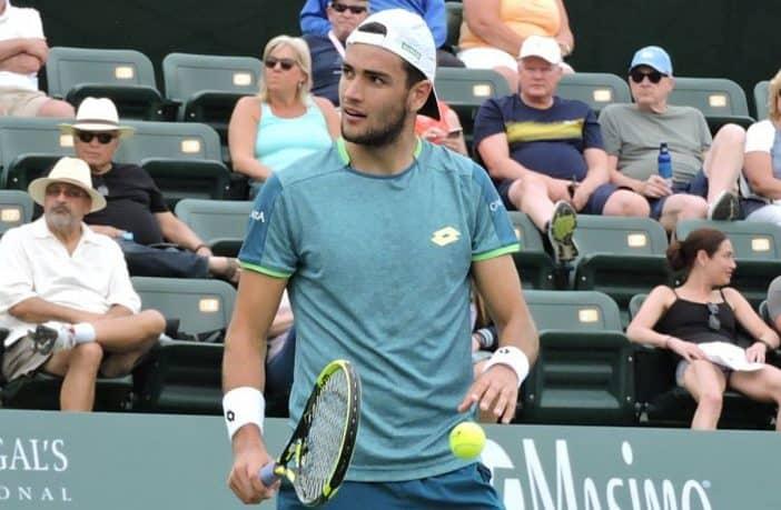 Matteo Berrettini contro Novak Djokovic
