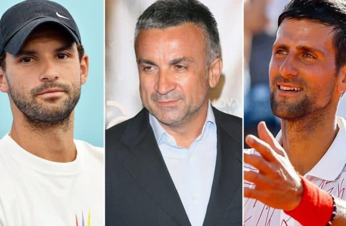 La ridicola lite tra Srdjan Djokovic e il manager di Dimitrov