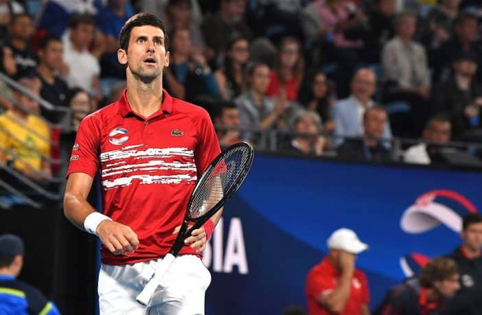 La stoccata dell'ATP a Novak Djokovic