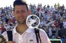 Novak Djokovic in lacrime a Belgrado