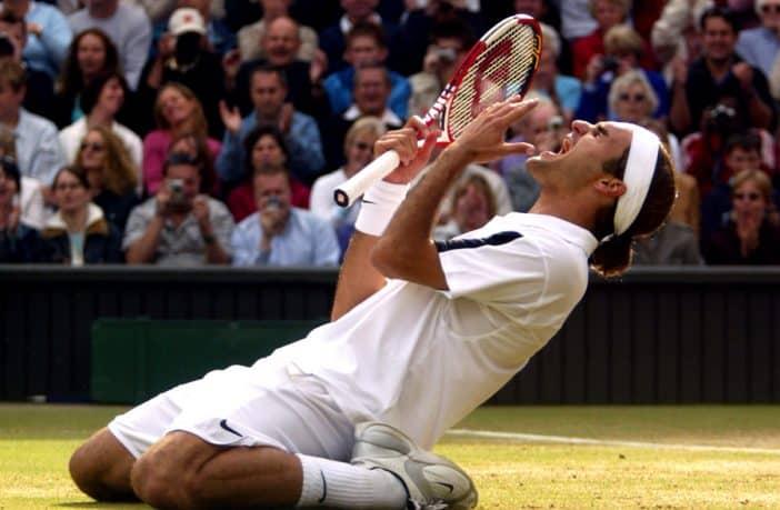 Il principe diventa re, la prima volta di Federer