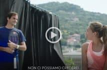 Federer sui terrazzi di Finale Ligure