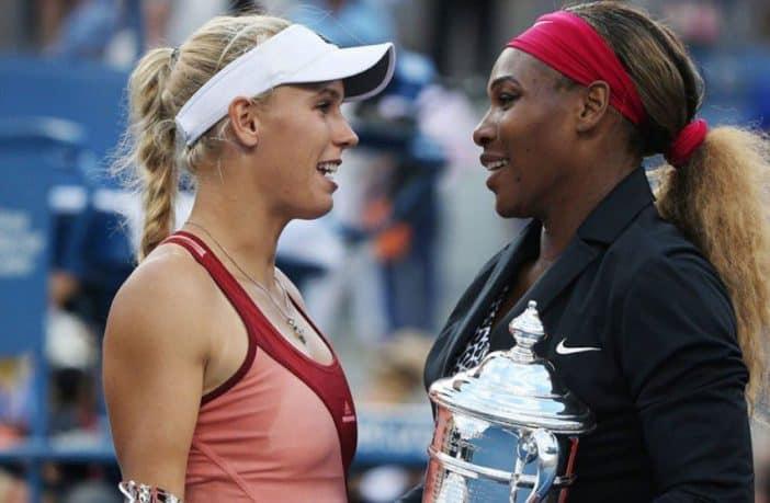 L'amicizia tra Caroline Wozniacki e Serena Williams durante il Coronavirus