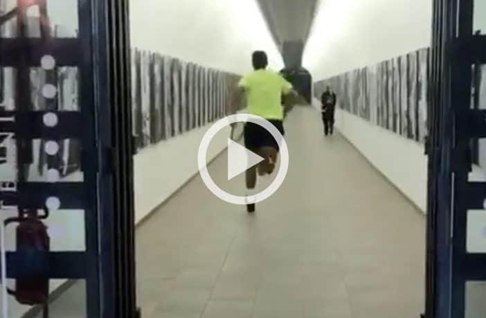 Rafael Nadal entra al Foro (Video)