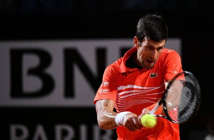 Novak Djokovic si prepara agli Internazionali