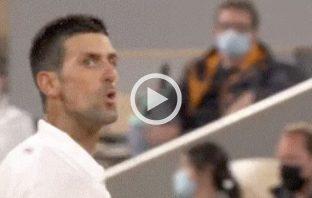 Djokovic litiga con il tifoso di Federer al Roland Garros