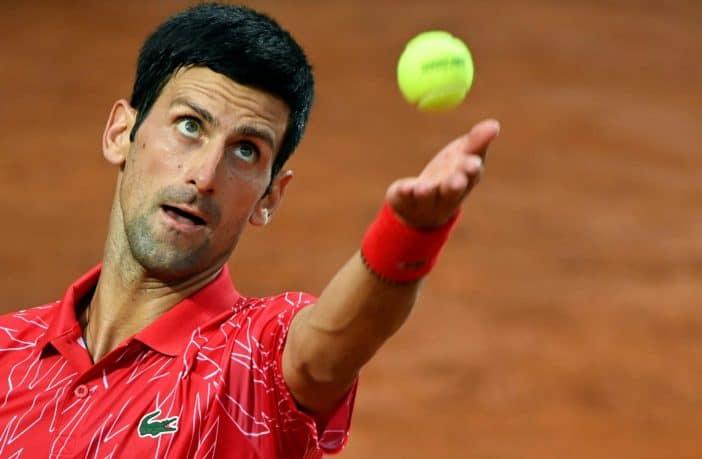 Anche Djokovic contro le palline del Roland Garros