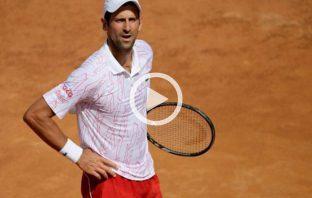 Gioco, Federer. Ma in campo c'è Djokovic