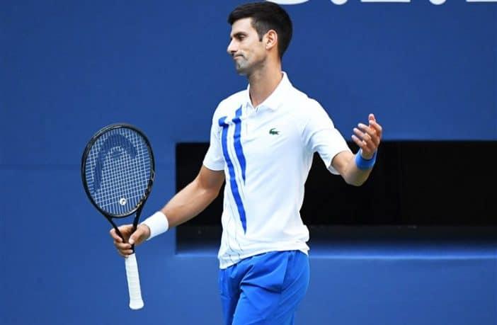 Us Open, Djokovic squalificato