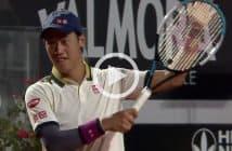 Il passante geniale di Musetti, Nishikori applaude
