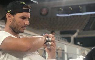 Il fantastico orologio di Nadal al Roland Garros
