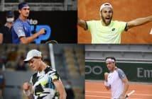Poker azzurro al Roland Garros