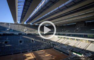 Ecco il nuovo tetto retrattile del Roland Garros