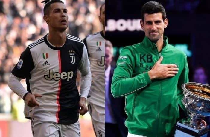 Djokovic e Ronaldo sono i due atleti che investono più sul proprio fisico