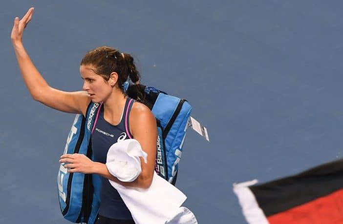 Julia Goerges dice basta col tennis, si ritira