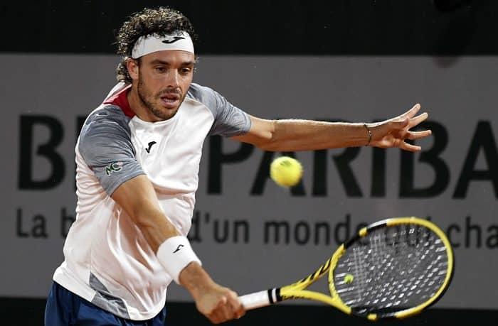 Marco Cecchinato in finale nell'Atp 250 in Sardegna