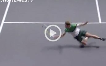 Il colpo al volo di Davidovich Fokina che ricorda Boris Becker