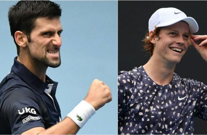 Djokovic incorona Sinner
