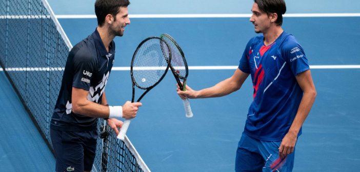 Le parole di Djokovic dopo la sconfitta contro Sonego
