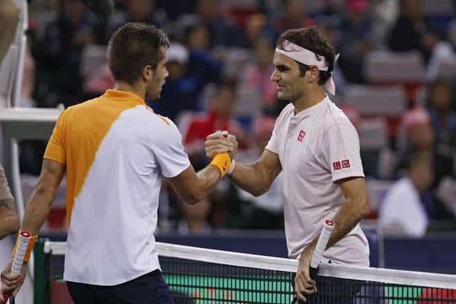 Borna Coric e i paragoni con Roger Federer