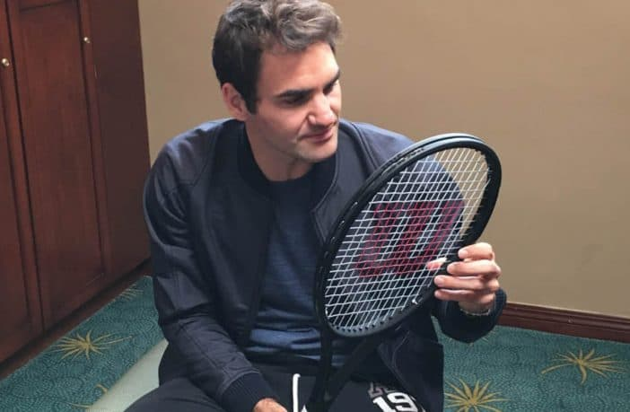 Wilson, la racchetta di Roger Federer