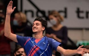 Sonego batte Evans e vola in finale a Vienna