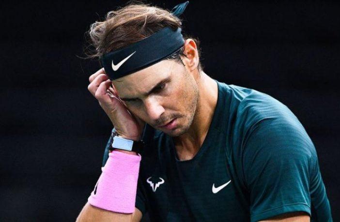 Nadal voleva prendersi una pausa dal tennis