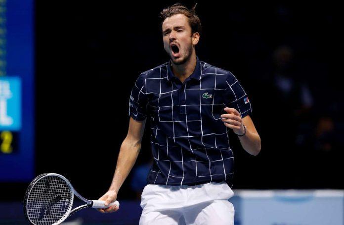 Daniil Medvedev vince le Atp Finals 2020