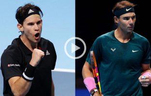 Atp Finals 2020, fantastico match tra Thiem e Nadal