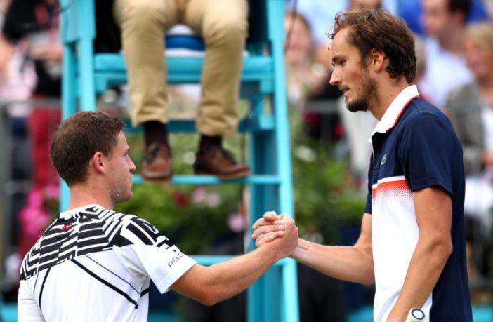 A Parigi-Bercy è ancora Schwartzman contro Medvedev